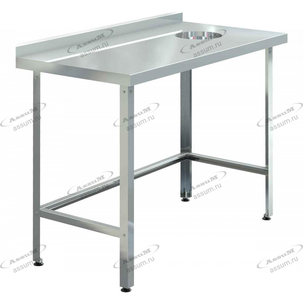 Стол для сбора отходов СПСО-С-15/6 (1500х600х850)