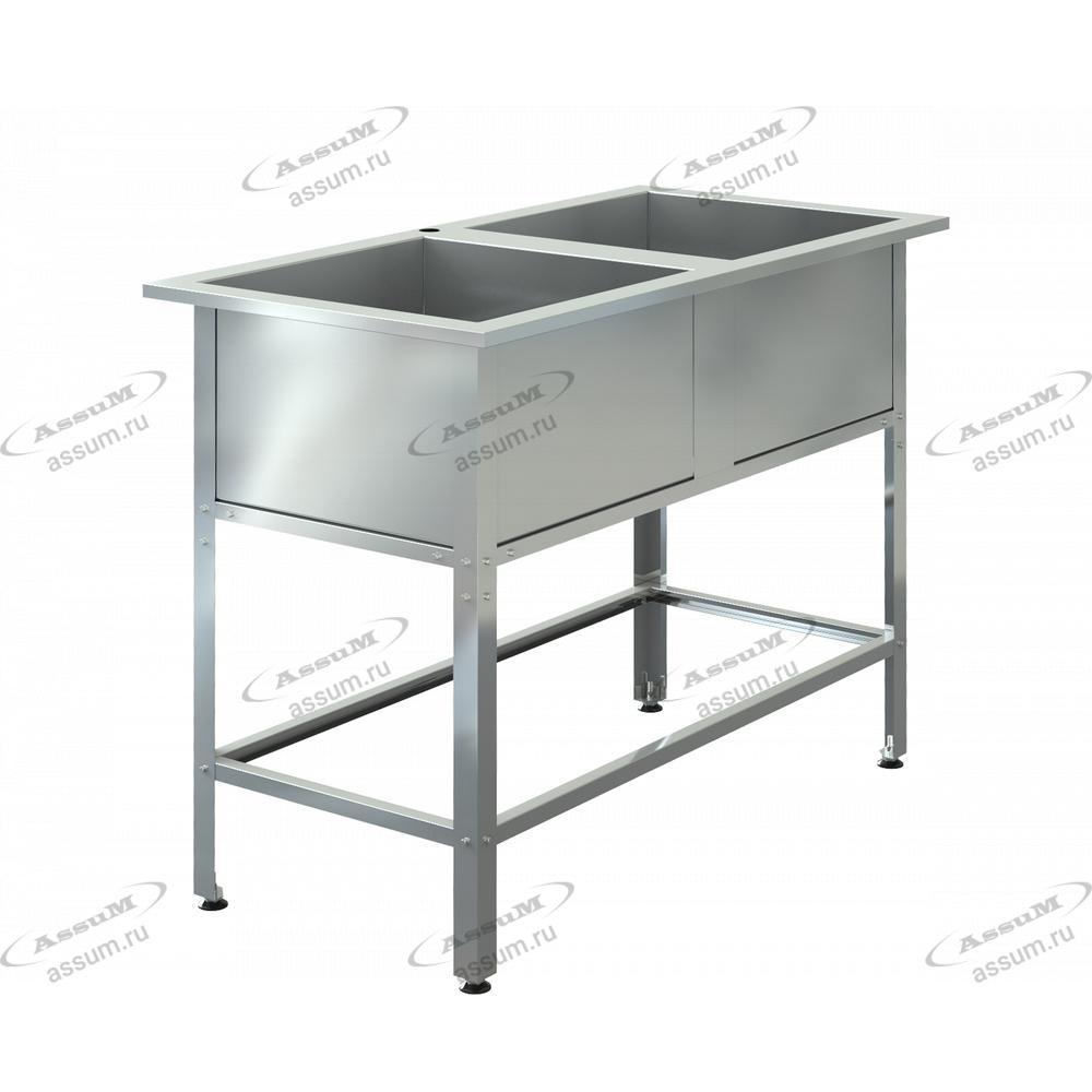 "Ванна моечная ""ASSUM-Standart"" ВМЭ-2/500 (1200х600х850)"