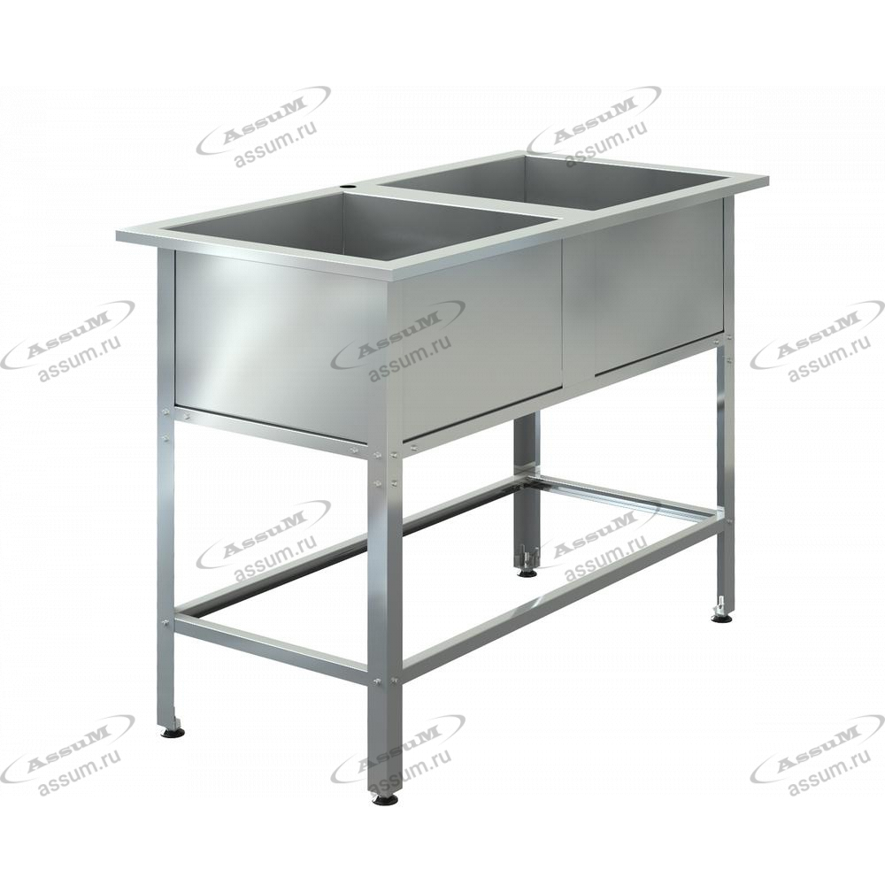 "Ванна моечная ""ASSUM-Standart"" ВМЭ-2/700 (1600х800х850)"