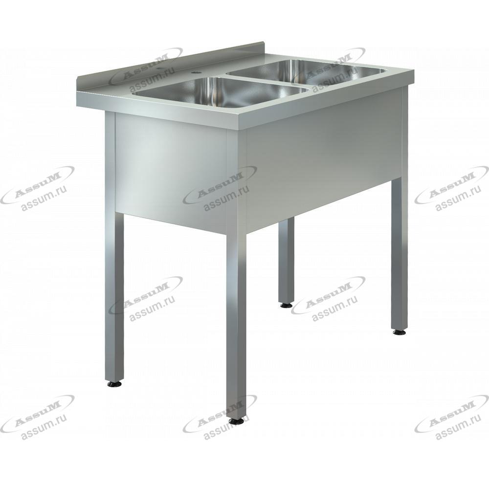 """Ванна моечная """"ASSUM-Premium"""" ВМП-2/500 (1150х700х850)"""