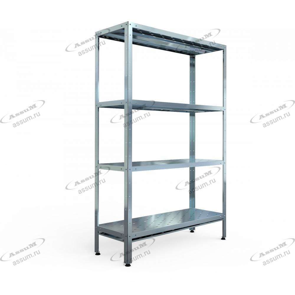 Стеллаж производственный СТПП-С-10/5 (1000х500х1800)