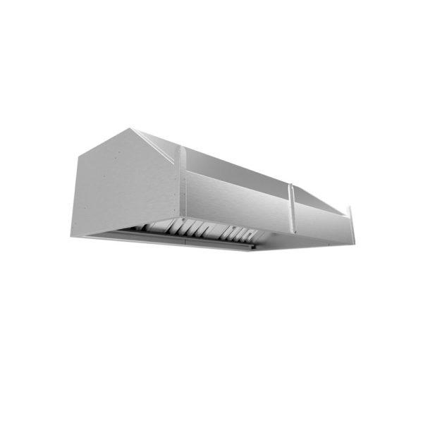 Зонт вытяжной пристенный ЗВП-700/900 (900х700х450)
