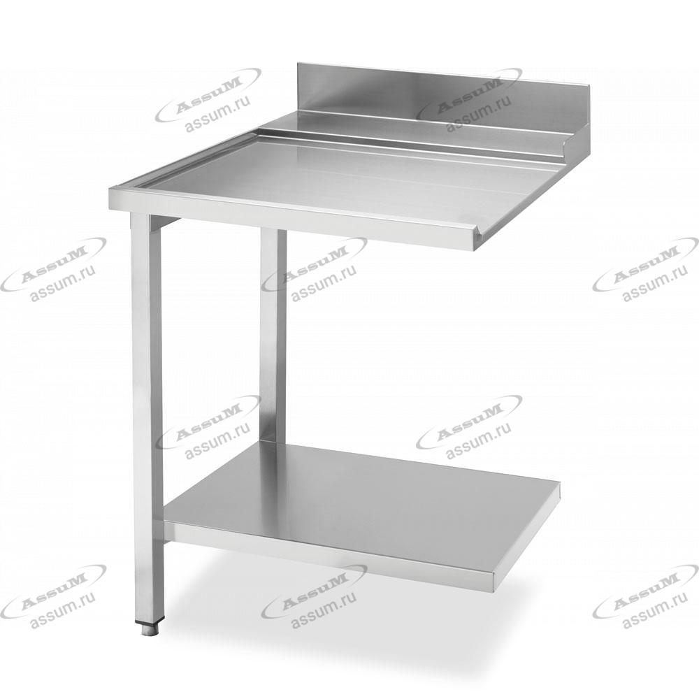 Стол простой (выходной) 700 для посудомоечных машин купольного типа, соединение слева WTX5700L