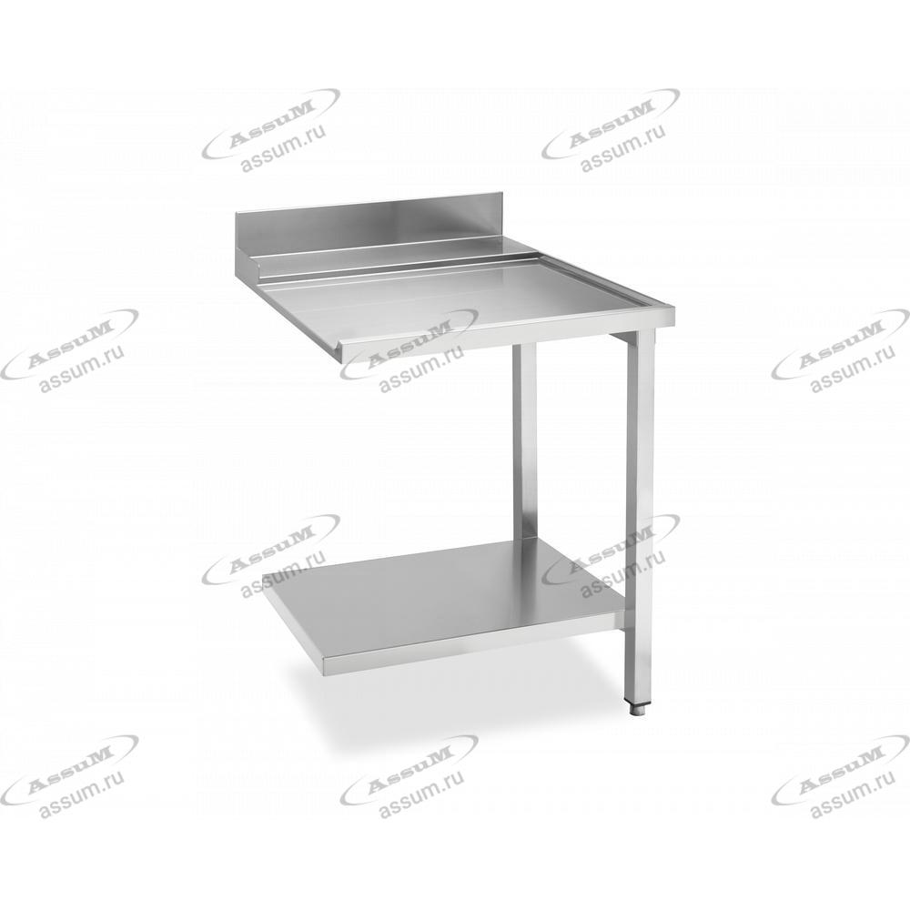 Стол простой (выходной) 700 для посудомоечных машин купольного типа, соединение справа WTX5700R