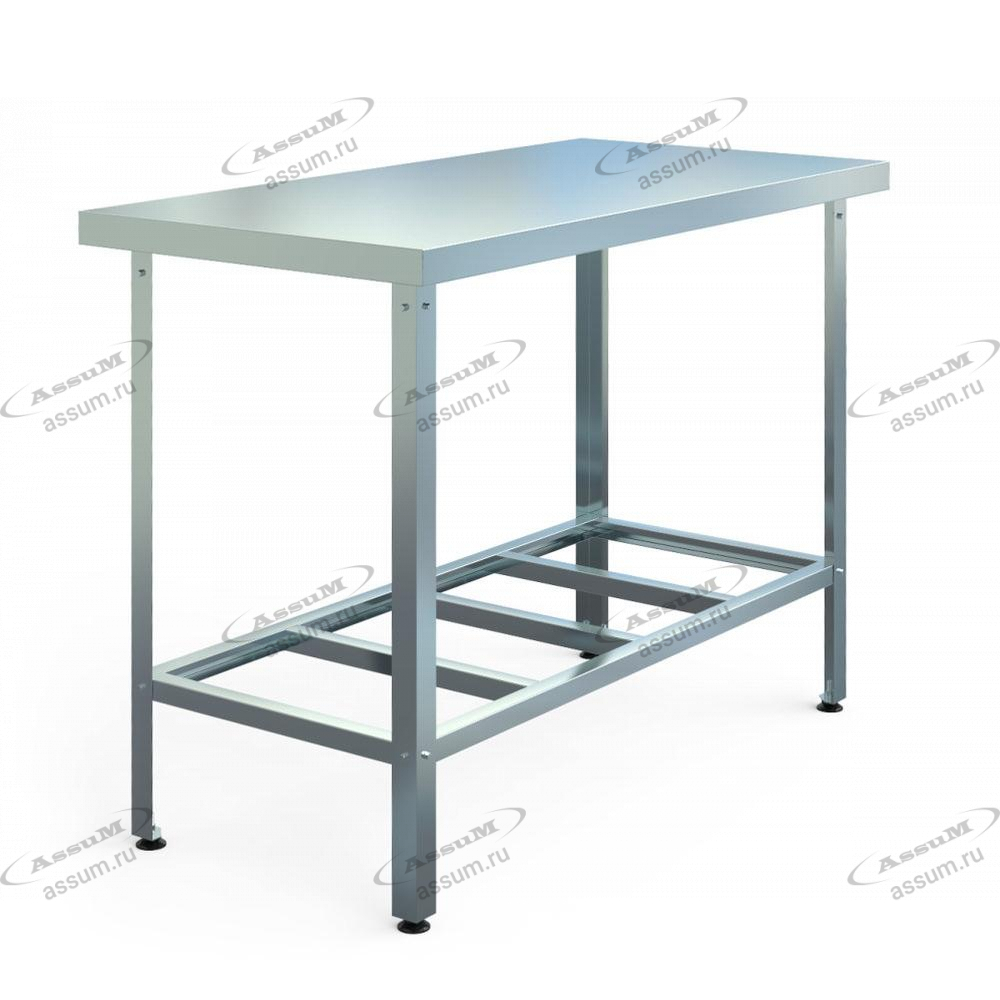 Стол производственный СПБ-С-7/7-П (700х700х850)