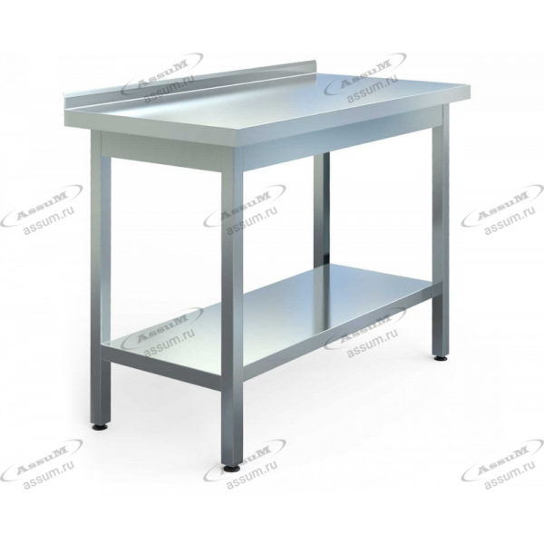 Стол производственный СПБ-С-13/6-П (1300х600х850)