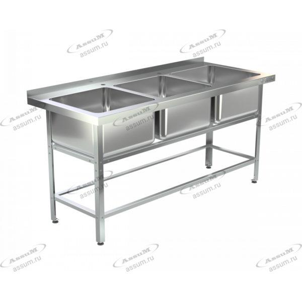 Ванна моечная ВМЦ-С-3/400 (1400х600х850)