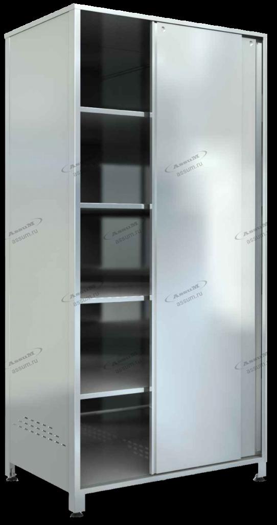 Шкаф кухонный, оцинкованная сталь
