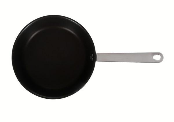 Сковорода 200/65 Luxstahl с высокими бортами кт605