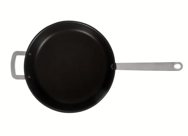 Сковорода 320/85 Luxstahl с высокими бортами кт609